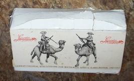 54mm 1/32 METAL CAVALIER MOUNTED GERMAN SCHUTZTRUPPE WW1 FIGURE AFRICA - $50.00