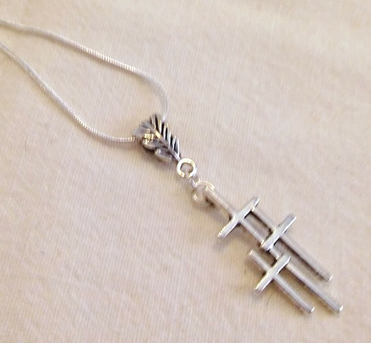 Best Seller Triple Cross Pendant Necklace