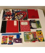 Back to School Essentials Supplies Kit Bundle Lot Grades K-8 Notebooks Pens - $23.99
