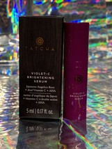 NIB 5mL Tatcha Violet C Brightening Serum Trial Travel Amazing Product