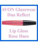 Make Up Lip Glazewear Duo Reflect Lip Gloss ~ Rose Hues ~ NEW ~AVON~ - $8.86