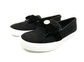 Liz Claiborne   WEAVER  Slip-On Suede Casual Loafer Black. Size 8.5 M - $48.37