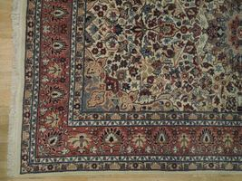 Ivory Wool Carpet 5 x 7 Fine Quality Reproduction Traditional Handmade Rug image 7
