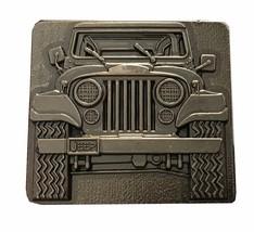 Vintage Jeep Wrangler Belt Buckle - s - For him - Boyfriend - Dad - Fath... - $27.00