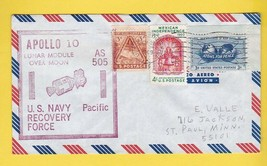 APOLLO 10 NAVY RECOVERY SHIP PACIFIC U.S.S. PRINCETON MAY 26 1969 PRIME ... - $3.58