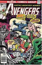 The Avengers Comic Book #155, Marvel Comics Group 1977 VERY FINE+ - $13.08