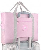 Foldable Travel Bag Waterproof Travel Tote Bag Foldable Bag Fully Lined ... - $35.38