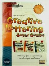 NEW Sealed Keepsakes Creative Lettering Super Combo x Scrapbooking, Card... - $8.90