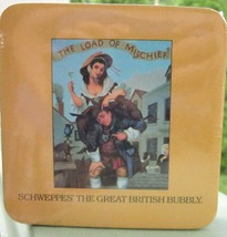 SCHWEPPES COASTER Set The Great British Bubbly 3000 Years 4 Unique Desig... - $4.75