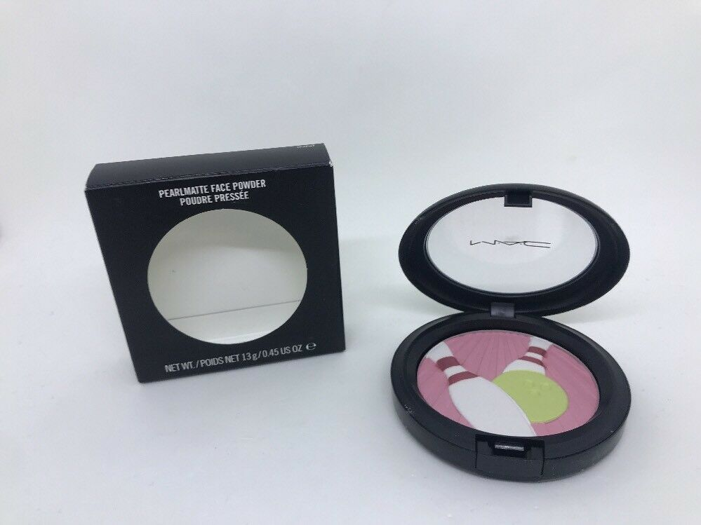 Primary image for MAC Pearlmatte Face Powder Trophy .45 Oz New In Box
