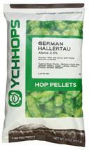 German Hallertau Hop Pellets - 1 lb in Light Resistant Nitrogen Flushed Package - $29.60