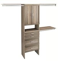 ClosetMaid 1935140 SuiteSymphony 25-Inch Closet Organizer with Shelves, ... - $8.417,65 MXN