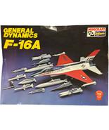Vintage Hasegawa Minicraft 1/32 General Dynamics F-16A Scale Model Kit 100 - $59.40