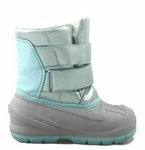Cat & Jack Toddler Girls Blue Lev Faux Fur Thermolite Insulted Winter Snow Boots image 2