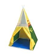 Parris Kids Pretend Play Hut Pop Up Eagle Sunrise Tepee Water Resistant ... - $39.19