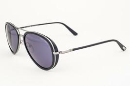 Tom Ford Miles Black / Blue Sunglasses TF341 14V - $175.42