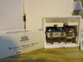 DEPT 56 59056 THE OLD CURIOSITY SHOP LIGHTED BLDG HERITAGE BOXED W/CORD  D4 - $19.55