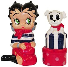 Kurt Adler Kurt S. Adler Betty Boop Handpainted Ceramic Salt & Pepper Shaker 2-P - $29.69
