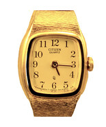Citizen Lady Unworn Gold Tone S/Steel, Gold Easy Read Number Dial Watch ... - $78.06