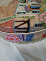 """Vintage Colorful """"Biscuit Tin"""" Made in England  image 2"""