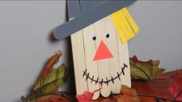Thanksgiving Wooden Scarecrow  - $5.00