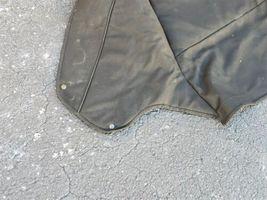 89-93 Jaguar XJS XJ-S Convertible Top Tonneau Boot Canvas Cover - BLACK image 4