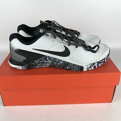 Nike Metcon 4 Running Shoes 11 White/Black-Sail AH7453 101
