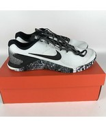 Nike Metcon 4 Running Shoes 11 White/Black-Sail AH7453 101 - $127.59