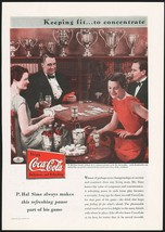 Vintage magazine ad COCA COLA from 1934 picturing P Hal Sims on contract... - $11.69