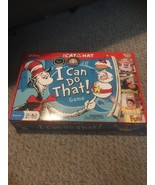 The Cat in the Hat I Can Do That Game Dr Seuss Preschool  COMPLETE IN BOX - $15.74