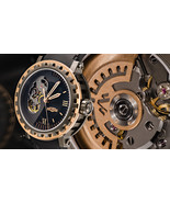 DeWitt Academia Mirabilis 18K Rose Gold Neotitanium Gent's Watch. Limite... - $17,999.00