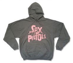 Sex Pistols-Classic Logo-Black Pullover Hooded Dark Gray Sweatshirt - $39.99