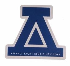 "Asphalt Yacht Club Logo ca. 2"" Sticker-Various Colors"