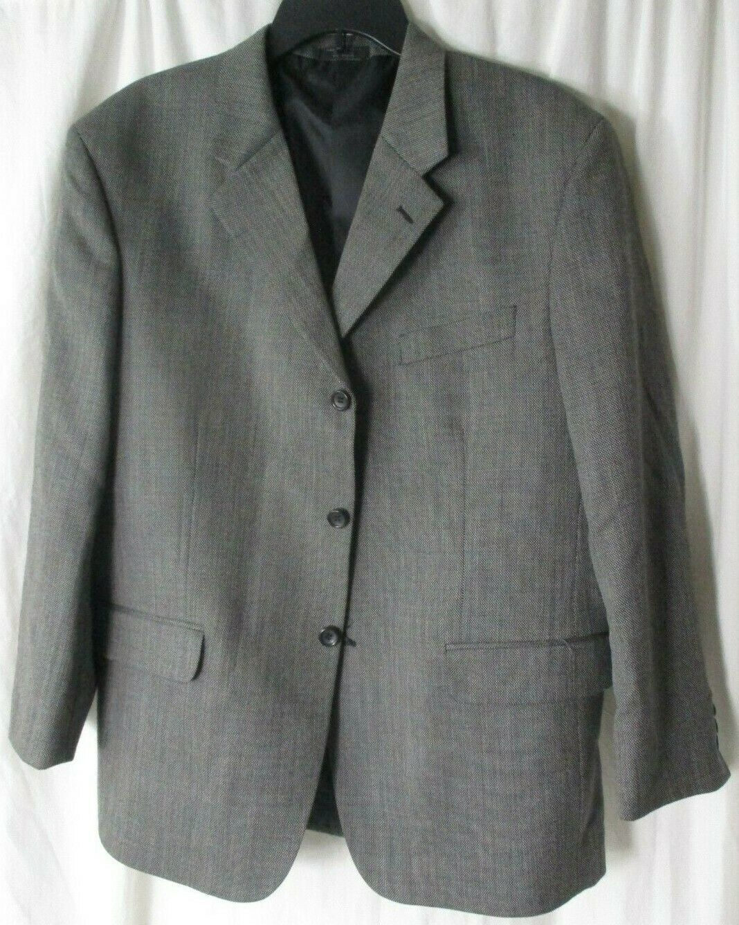 Primary image for Baracuta Athletic Fit Grey Blazer Size 44S 100% Wool