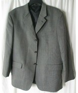 Baracuta Athletic Fit Grey Blazer Size 44S 100% Wool - $22.76