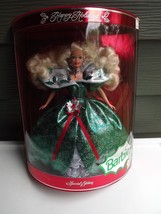 1995 Barbie Happy Holidays Special Edition Mattel Barbie Doll NIB - $19.39