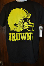 NFL TEAM Mens CLEVELAND BROWNS  T-Shirts Size:/M/ NWT - $14.39