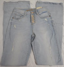 Women's Juniors Arizona Jeans Flare Envy Size 3 Button Fly NEW - $26.72