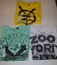 ZOO YORK  Mens Various T SHIRTS  SIZES     M OR   L  NWT NEW Green Yello... - $11.99