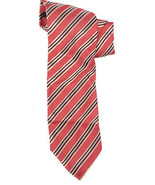 NWT Authentic Joseph Abboud Diagonal Stripe Red... - $45.60
