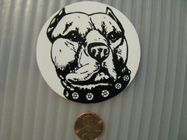 Hand made Decal sticker Pit Bull Pitbull stafordshire Terriers - $19.98