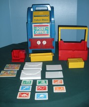 Vintage Fisher Price #2020 Post Office 99% Complete/VG+++-EXC! (F) - $80.00