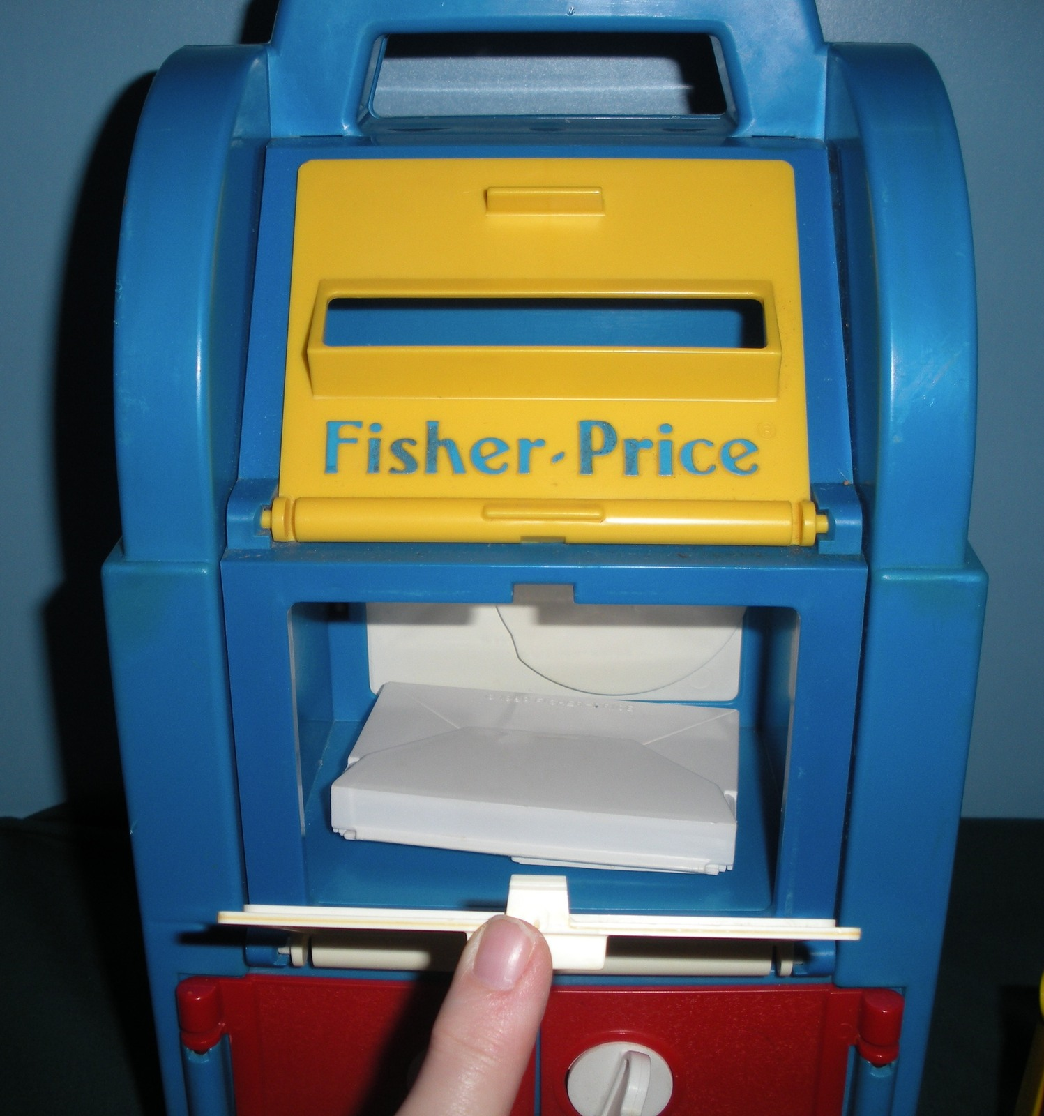 Vintage Fisher Price #2020 Post Office 99% Complete/VG+++-EXC! (F)