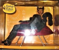 BLACK PANTHER LOUNGE KITTIES COLLECTION BARBIE DOLL AFRICAN AMERICAN BLA... - $90.00