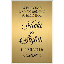 Welcome to our Wedding Seating Sign Poster - ₨1,309.11 INR+