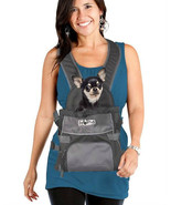 HANDS FREE DOG CARRIER FRONT BACK PACK BACKPACK TOTE PETS UP TO 8 LBS TR... - $22.95