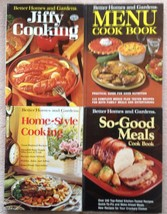 Lot 4 1960s 1970s Vintage Better Homes & Gardens Cookbooks: Jiffy, Home-... - $3.68