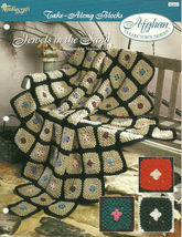 Needlecraft Shop Crochet Pattern 932015 Jewels In The Sand Afghan Series - $4.99