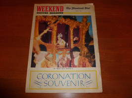 Queen Elizabeth II Coronation Montreal Star Weekend Picture Magazine Jun... - £1.42 GBP