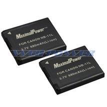2x Battery For Canon NB-11L PowerShot A2300 IS A2400 A2500 680mAh BATTER... - $10.78